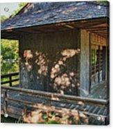 Japanese Teahouse Acrylic Print