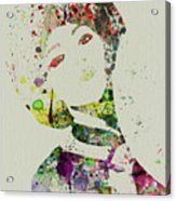 Japanese Woman Acrylic Print by Naxart Studio