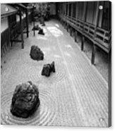 Japanese Zen Garden Acrylic Print