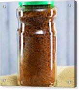 Jar Of Instant Decaf Coffee Acrylic Print
