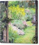 Jardin Acrylic Print