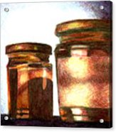 Jars Acrylic Print