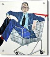 Jarvis Cocker 'off Yer Trolley' Acrylic Print