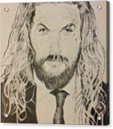 Jason Mamoa Acrylic Print