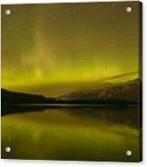 Jasper National Park Aurora Borealis Acrylic Print