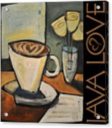 Java Love Poster Acrylic Print