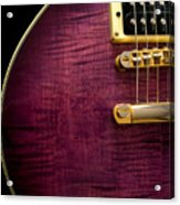 Jay Turser Guitar 6 Acrylic Print