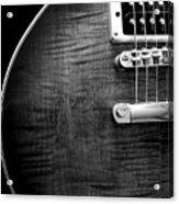 Jay Turser Guitar Bw 1 Acrylic Print