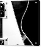 Jay Turser Guitar Bw 2 Acrylic Print