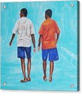 Jay Walkers Acrylic Print