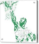 Jaylen Brown Boston Celtics Pixel Art 12 Acrylic Print