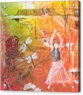 Jayzen - The Little Gypsy Dancer Acrylic Print