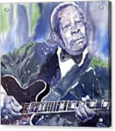 Jazz B B King 01 Acrylic Print