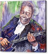 Jazz B B King 06 Acrylic Print