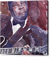 Jazz B B King Acrylic Print