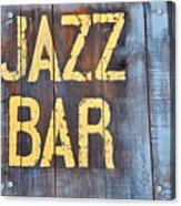Jazz Bar Acrylic Print by Keith Sanders