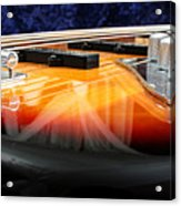 Jazz Bass Beauty Acrylic Print