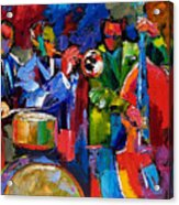 Jazz Beat Acrylic Print