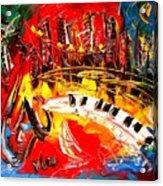 Jazz City Acrylic Print
