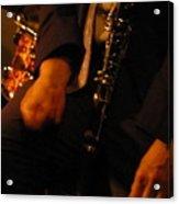 Jazz Clarinet Acrylic Print