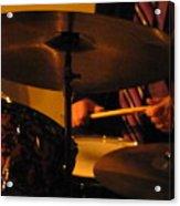 Jazz Drums Acrylic Print