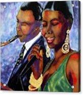Jazz Duet Acrylic Print
