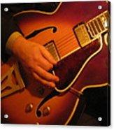 Jazz Guitar  Acrylic Print