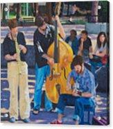 Jazz In The Park Acrylic Print