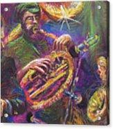 Jazz Jazzband Trio Acrylic Print