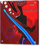 Jazz Kool Kat Kick It Acrylic Print