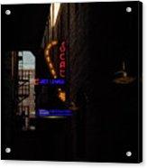 Jazz Lounge Acrylic Print