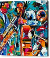Jazz Magic Acrylic Print