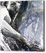 Jazz Marcus Miller 01 Acrylic Print