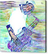 Jazz Melody Acrylic Print