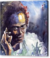 Jazz Miles Davis 11 Acrylic Print