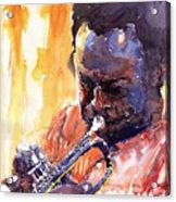 Jazz Miles Davis 8 Acrylic Print