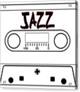 Jazz Music Tape Cassette Acrylic Print