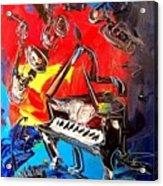 Jazz Piano Acrylic Print