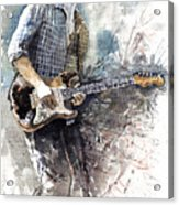 Jazz Rock John Mayer 05  Acrylic Print