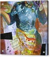 Jazz Singer Acrylic Print