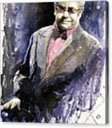 Jazz Sir Elton John Acrylic Print