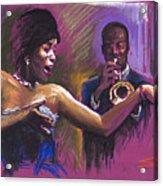 Jazz Song.2. Acrylic Print
