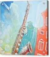 Jazz. Summer. Gdansk Acrylic Print