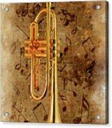 Jazz Trumpet Acrylic Print
