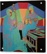 Jazzamatazz Band Acrylic Print