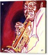 Jazzman Cootie Williams Acrylic Print by David Lloyd Glover