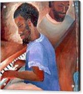 Jazzmen Acrylic Print