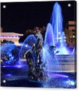 J.c.nichols Fountain-9802b Acrylic Print