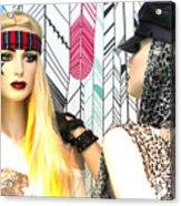 Jean And Uva Acrylic Print