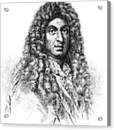 Jean-baptiste Lully, French Composer Acrylic Print